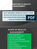 Wealth Management Combines Both Financial Planning and Specialized