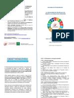 Jornadas ODS Folleto Programa