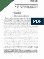Hermes Tovar Lo diverso lo multiple y la magnitud dispersa.pdf