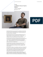 Why Artist Simon Fujiwara Rebuilt Anne Frank's House Inside an Israeli Gallery | artnet News