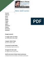 Mesi in Italiano