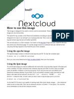 What is Nextcloud?