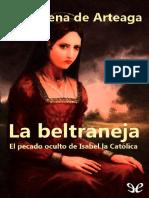 La Beltraneja. El Pecado Oculto de Isabel - Almudena de Arteaga