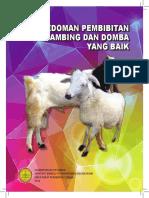 Pedoman Pembibitan Kambing Dan Domba Yang Baik