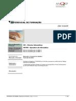 UFCDs - Operadora-De-Informtica ReferencialEFA 481038