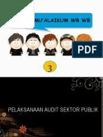 Pelaksanaan Audit Sektor Publik