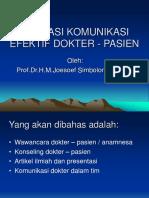 Aplikasi Komunikasi Efektif Dokter - Pasien