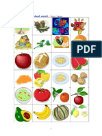 Calendarul Naturii Anexa Nr3 Fructe Legume