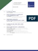 Programa 65° Convencion Anual de CAMARCO 2017