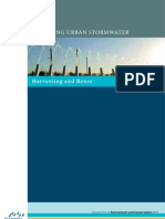Managing Urban Storm Water, Harvesting and Reuse, Pages 1 - 80