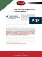 Las Resistencias Eléctricas de Electricfor en Expoquimia