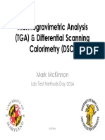 LMD-TGA-DSC