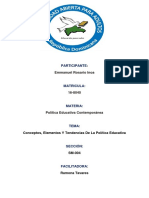 Unidad I Politica Educativa