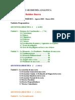 PROGRAMA DE GEOMETRÍA PROF. FELIPE