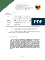 2nd Quarter Poona-piagapo Mpl Threat Assessment 2017
