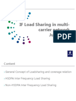 If Load Sharing in Multi-carrier Network