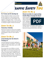 School Traffic Safety Tips