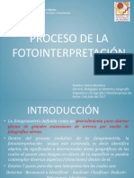 Proceso de La Fotointerpretación