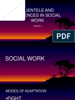 Clientele and Audiences in Social Work