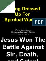 06-27-2010 Get Dressed Up for Spiritual Warfare