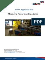 AppNote PowerLineImpedance V1.1