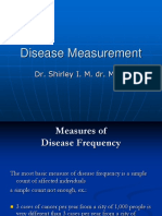 Disease Measurement Update