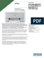 Epson WorkForce Pro WP M4095 DN Ficha Técnica