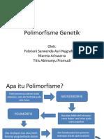 Polimorfisme Genetik