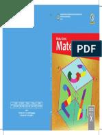 Kelas X Matematika BiG Cover 2017