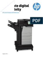 HP LaserJet Enterprise MFP M630 Productguide