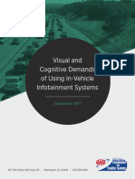Visual and Cognitive Demands of Using In-Vehicle Information Systems