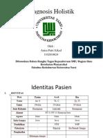 Diagnosis Holistik Ppt