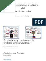Introducción a La Física De Semiconductores
