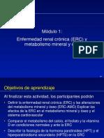 Alteraciones Del Metabolismo Mineral en La ERC