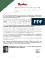 A Recuperação Judicial Das Concessionárias de Serviços Públicos_ o Caso Da Oi - Migalhas de Peso