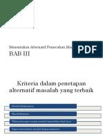 Bab III,IV,V