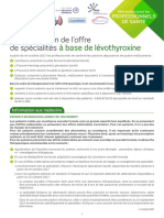 Levothyrox Information Professionnel Sante Oct2017
