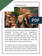 Tari Barong Bali
