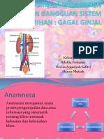 Anamnesa Pada Pasien Dengan Gangguan Sistem Perkemihan
