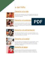 10 Texturas, Fenomenots y Derechos de Los Niños