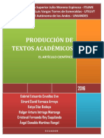 PRODUCCIÓN de Textos Universitarios