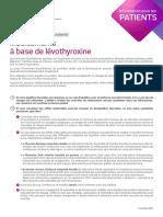 Levothyrox Information Patient Oct2017