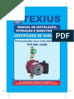Pressurizador Texius TPF-WE 340W DEZ2014