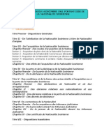 RCI -Le Code de La Nationalite-1962