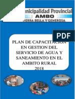 Plan de Gestion Del Servicio