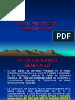 Proyectos Urbanisticos con impacto ambiental