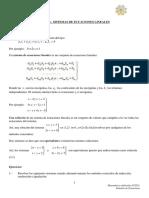 TEMA 3 Sistemas de Ecuaciones