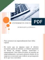 INVERSIÓN INICIAL