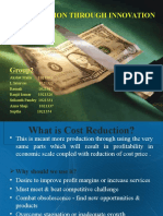 Cost Reduction (1)