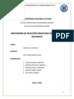 Informe de Mecanismo de Reacciones